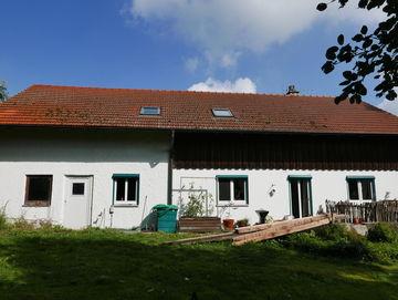 Das alte Haus: Hier wohnt Familie Spindler in Dorfen.